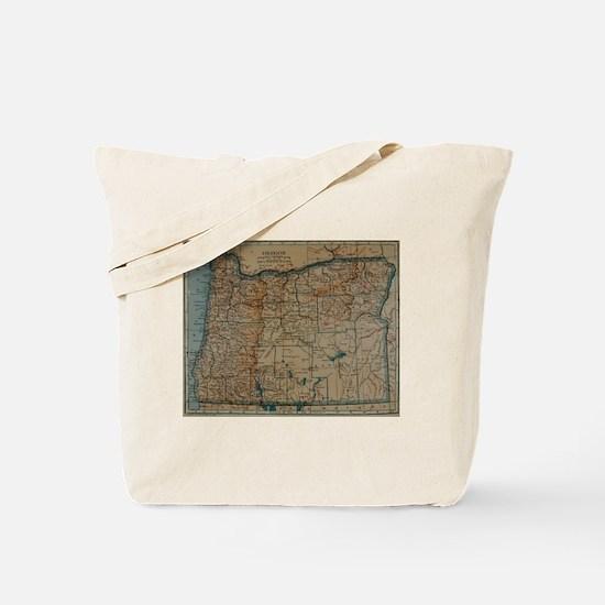 Cute I love oregon Tote Bag