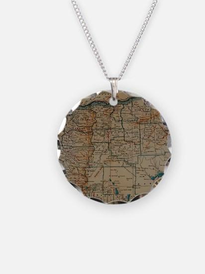 Cute Oregon heart Necklace