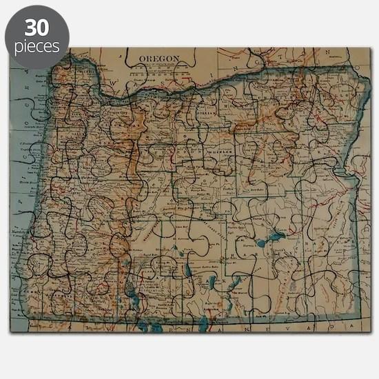 Unique Oregon Puzzle