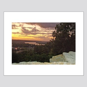 Sunset Over Ohio River Valley Posters
