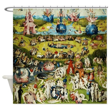 Hieronymus Bosch Garden Of Earthly Shower Curtain by Admin_CP2452714