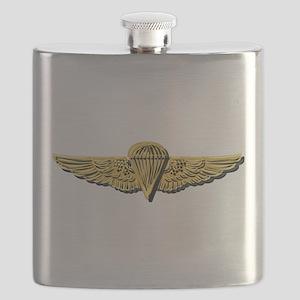 Navy - Parachutist Badge - No txt Flask
