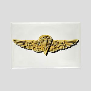 Navy - Parachutist Badge No Txt Rectangle Magnets