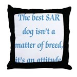 SAR Breed - v1 Throw Pillow