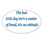 SAR Breed - v1 Oval Sticker