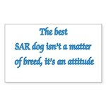 SAR Breed - v1 Rectangle Sticker