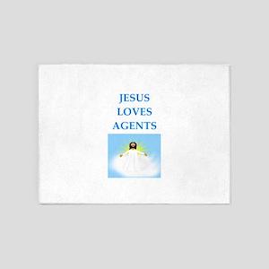 agent 5'x7'Area Rug
