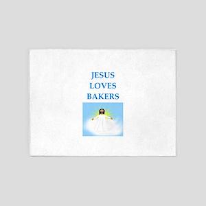 baker 5'x7'Area Rug