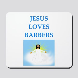 barber Mousepad