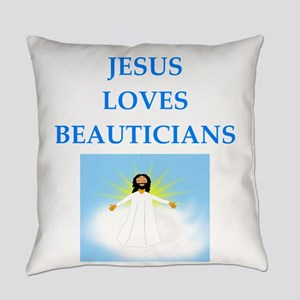 beautician Everyday Pillow