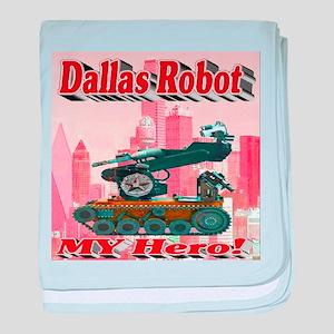 Dallas Robot My Hero! baby blanket