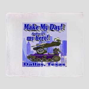Make My Day Andros Throw Blanket