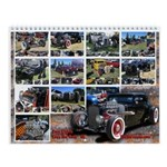 Rat Rods Wall Calendar