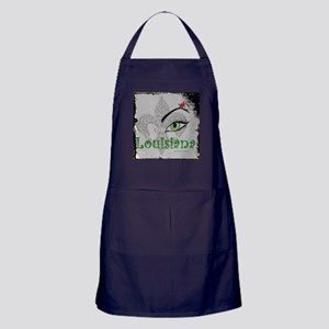 See Louisiana Vintage Apron (dark)