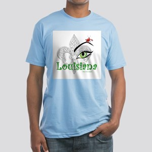 See Louisiana Men's Fitted T-Shirt