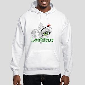 See Louisiana Men's Hooded Sweatshirt