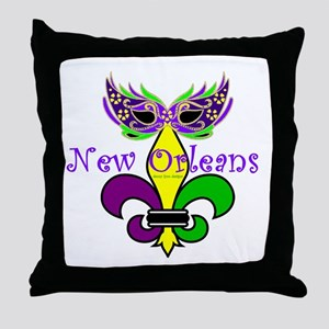 See New Orleans Throw Pillow