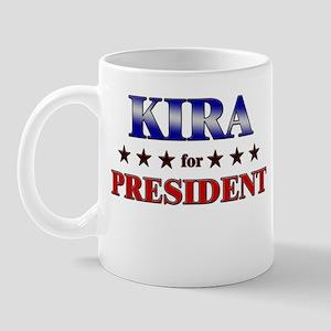 KIRA for president Mug