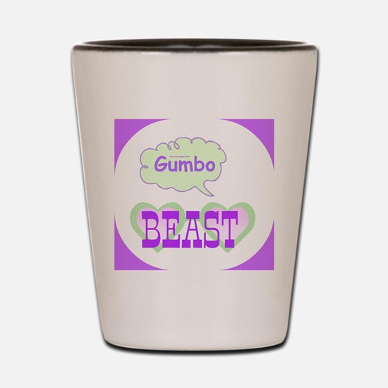 Gumbo Beast Shot Glass