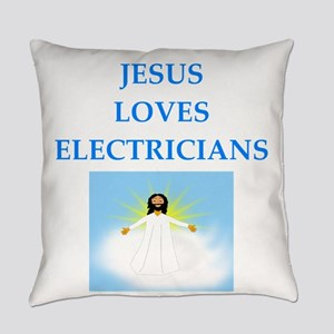 electrician Everyday Pillow
