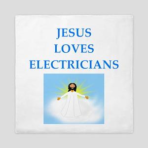 electrician Queen Duvet