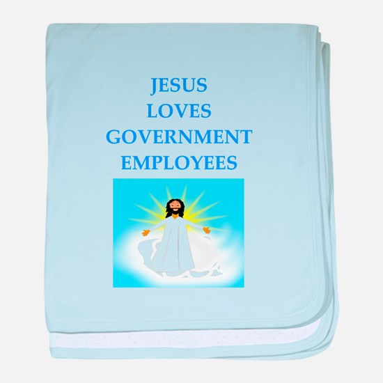 government baby blanket