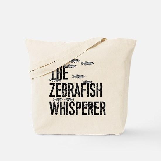 Zebrafish Whisperer Tote Bag