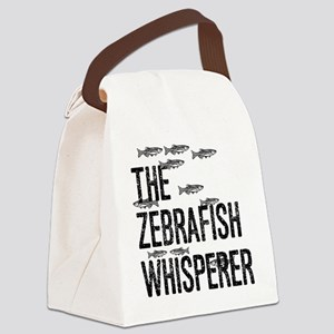 Zebrafish Whisperer Canvas Lunch Bag
