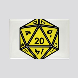 D20 Yellow Magnets