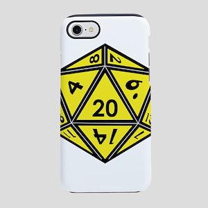 D20 Yellow iPhone 8/7 Tough Case