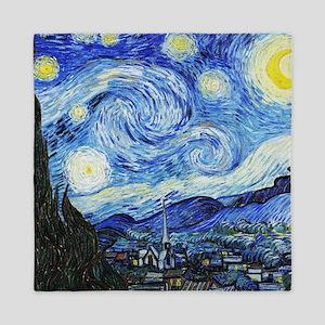 Vincent van Gogh Starry Night Queen Duvet
