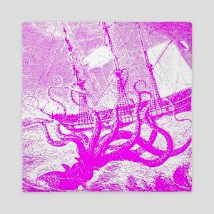 Giant Squid Kraken Queen Duvet