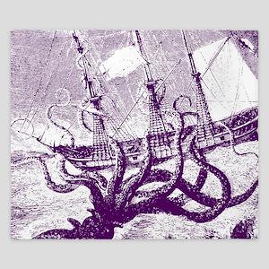 Giant Squid Kraken King Duvet