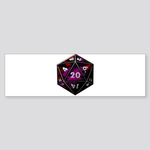 D20 color Bumper Sticker