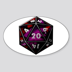 D20 color Sticker
