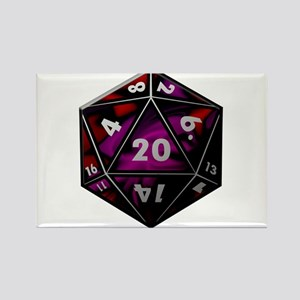 D20 color Magnets