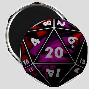 D20 color Magnets