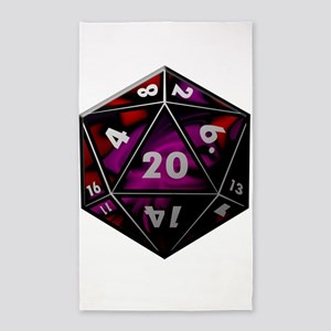 D20 color Area Rug