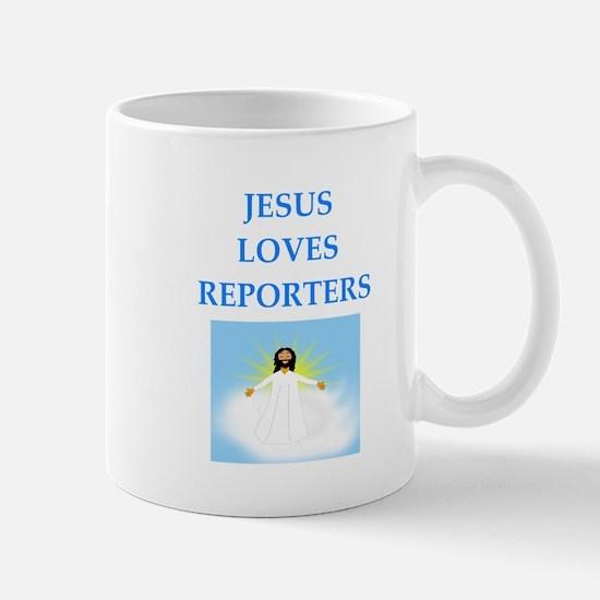 reporter Mugs