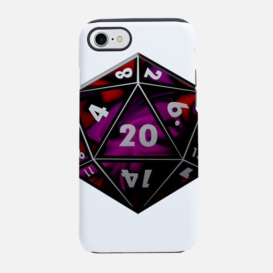 D20 color iPhone 8/7 Tough Case