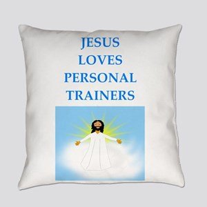 personal trainer Everyday Pillow