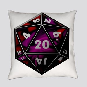 D20 color Everyday Pillow