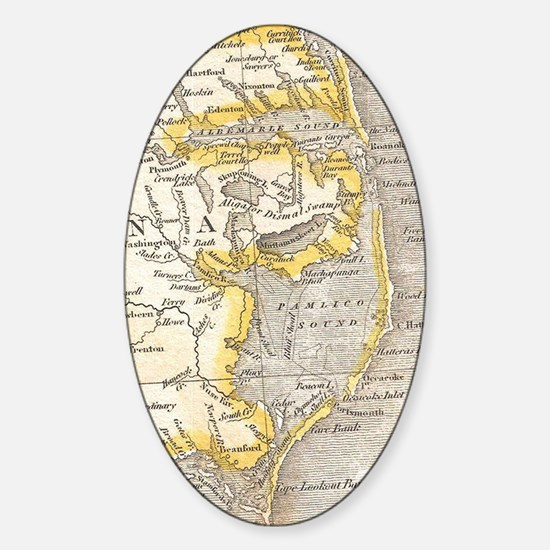 Cute Outer banks Sticker (Oval)
