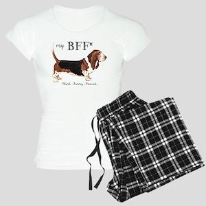 Basset BFF Women's Light Pajamas