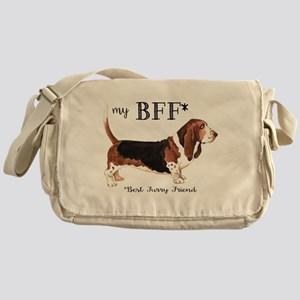 Basset BFF Messenger Bag
