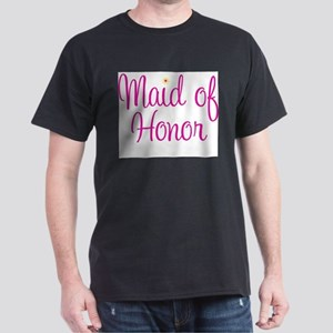Maid of Honor Ash Grey T-Shirt
