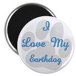 Love My Earthdog Magnet