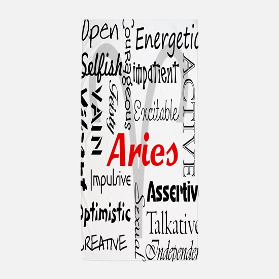 Aries Collage Beach Towel