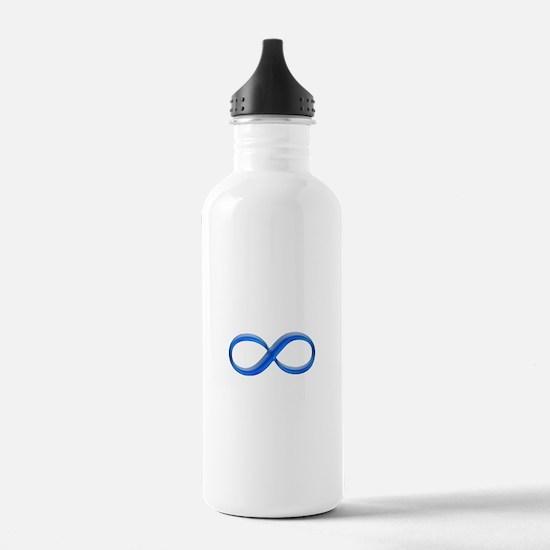 Infinity Symbol Water Bottle