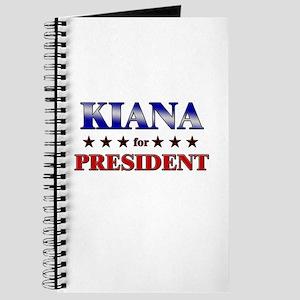 KIANA for president Journal